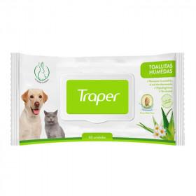 Traper Toallitas Húmedas para Mascotas