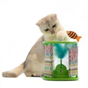 Cat Love Baño Esquinero para Gatos