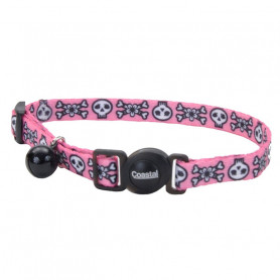 Coastal Collar Fashion Pink Skull