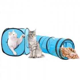 Pawise Túnel y Cubo Plegable para Gatos
