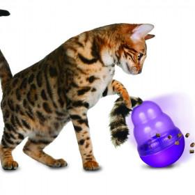 Arnés con Correa para Gatos Color Celeste