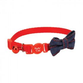 Coastal Collar Embellished Red