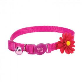 Coastal Collar Embellished Flower Pink