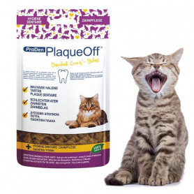 Proden PlaqueOff Bites Gatos