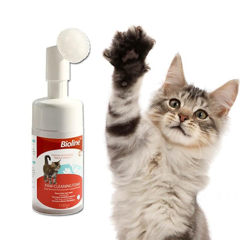 Bioline Limpieza Almohadillas para Gatos