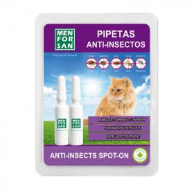 Menforsan Pipeta Anti-Insectos para Gatos