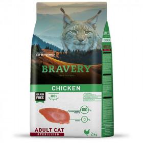 Bravery Adult Cat Sterilized Chicken