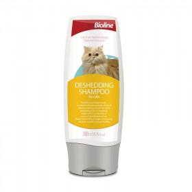 Bioline Shampoo Antipelecha para Gatos