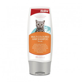 Bioline Shampoo para Gatos Multicolores