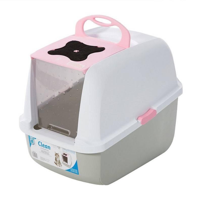 Catit Baño para Gatos Color Rosado