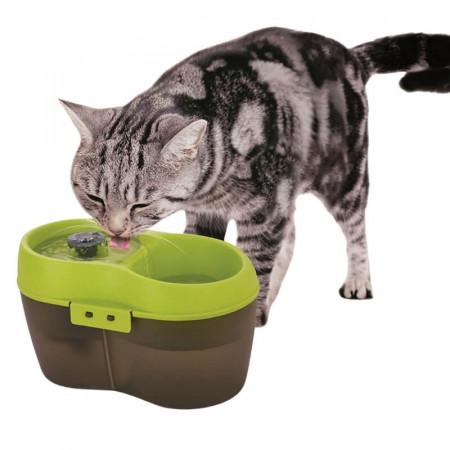 CatH2O Fuente de Agua para Gatos 2 lts Verde