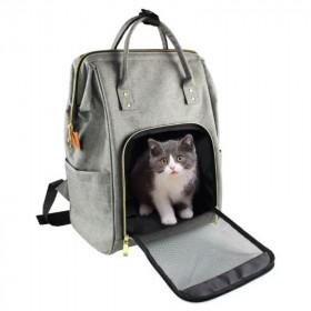 Arnés Ajustable para Gatos Diseño Atigrado