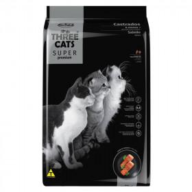 Three Cats Super Premium Gatos Castrados