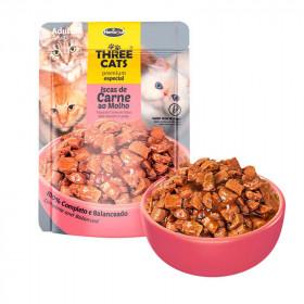 Three Cats Original Adultos Carne - 12 unid