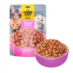 Three Cats Original Gatitos Carne - 12 unid