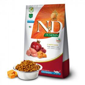 N&D Pumpkin Feline Castrado