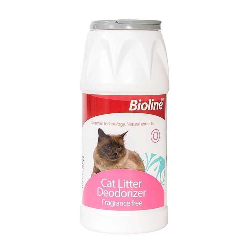 Bioline Talco Desodorante de Arena Sanitaria