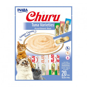 Inaba Churu Variedades de Atún 20 tubos