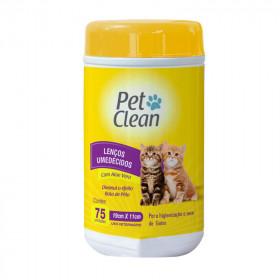 Pet Clean Toallitas Húmedas con Aloe Vera