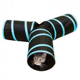 Pawise Túnel Plegable 3-Way para Gatos