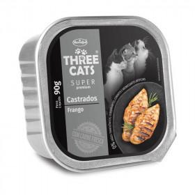 Three Cats Paté Gatos Castrados
