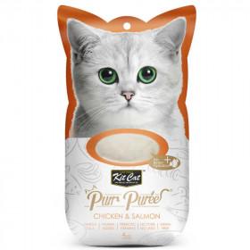 Kit Cat Purr Pollo y Salmón