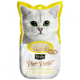 Kit Cat Purr Pollo y Fibra Hairball
