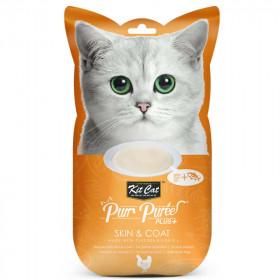 Kit Cat Purr Plus Piel y Pelaje Pollo