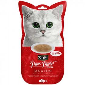 Kit Cat Purr Plus Piel y Pelaje Atún