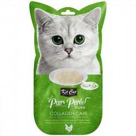 Kit Cat Purr Plus Collagen Care Pollo