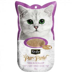 Kit Cat Purr Atún y Ostiones