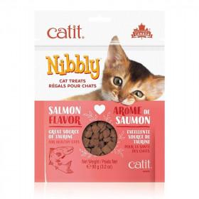 Catit Nibbly Premios Sabor Salmón