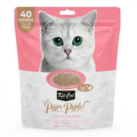 Kit Cat Purr Pack Atún y Salmón