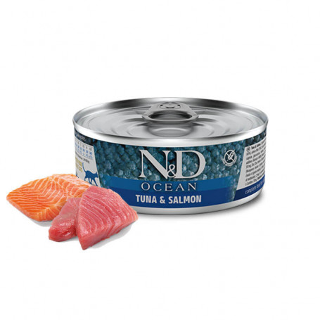 N&D Ocean Atún y Salmón
