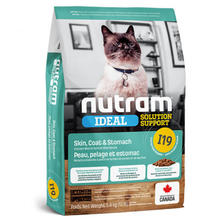 Nutram Ideal Solution Skin, Coat & Stomach Cat