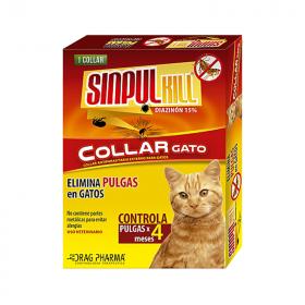 Sinpulkill Collar Antipulgas para Gatos
