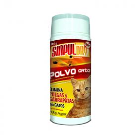 Sinpuldry Antipulgas en Polvo para Gatos
