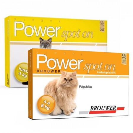 Power Spot On Pipeta Antipulgas para Gatos