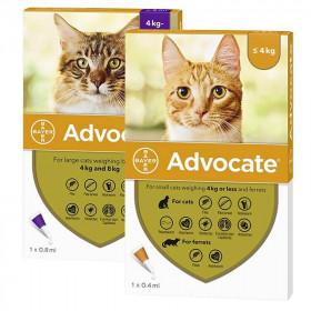 Advocate para Gatos Pequeños y Grandes