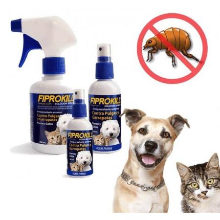 Fiprokill Spray Antipulgas Perros y Gatos