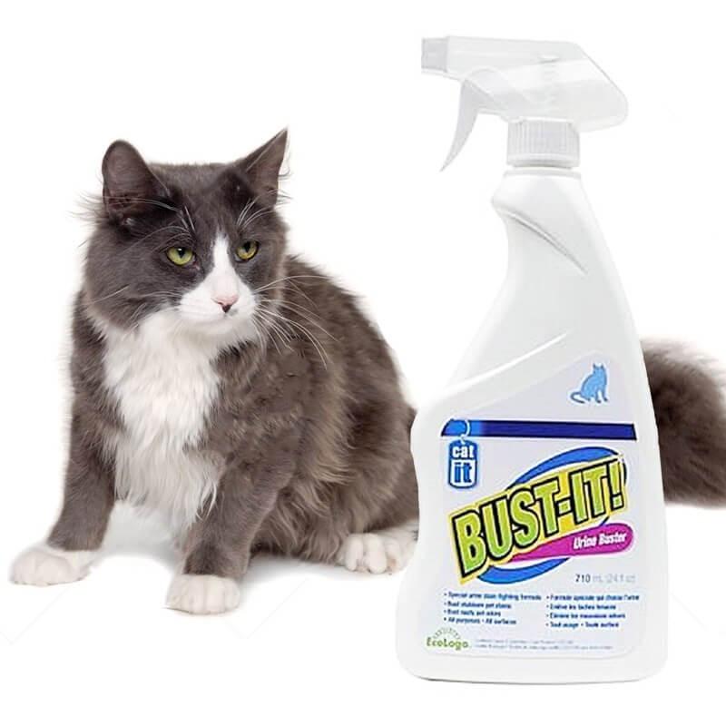 Cat Bust-It Elimina Olores y Manchas