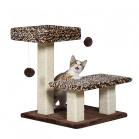 Rascador Terraza Leopardo para Gatos