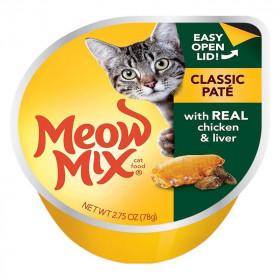 Meow Mix Pollo e Hígado en Salsa