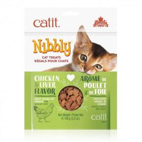 Catit Nibbly Premios Sabor Hígado de Pollo