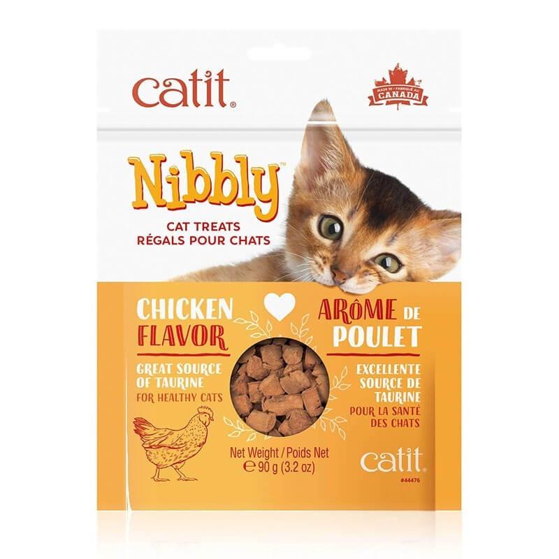 Catit Nibbly Premios Sabor Pollo