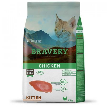 Bravery Kitten Chicken