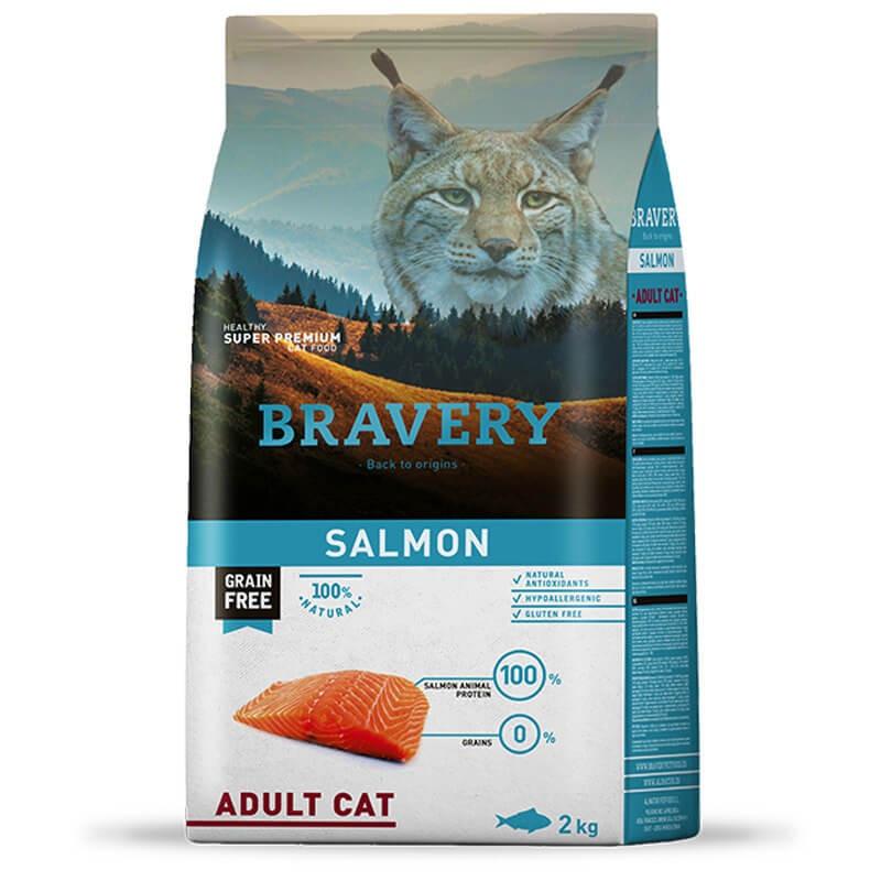 Bravery Adult Cat Salmón